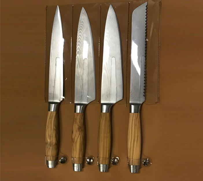 Fabrication housse pour couteaux sur mesure